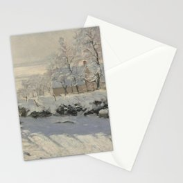 Claude Monet  -  The Magpie Stationery Cards