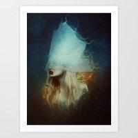 underwater Art Prints featuring Underwater by Kryseis Retouche