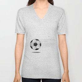 Moving Football Unisex V-Neck