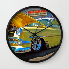 Classic Chevy Belair Wall Clock