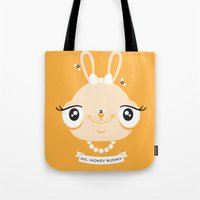 Ms. Honey Bunny Tote Bag