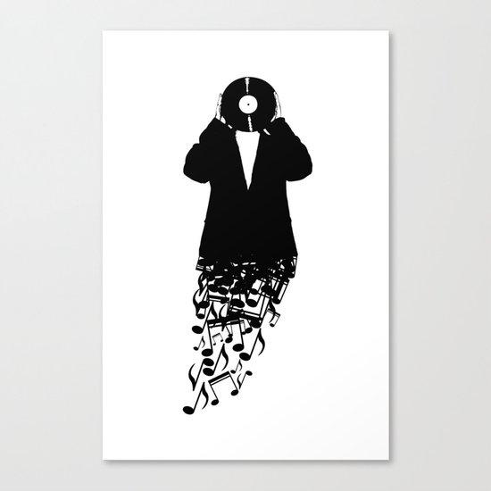 Musicman Canvas Print