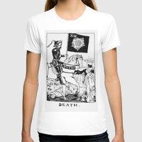 tarot T-shirts featuring Tarot XIII by Shaina Stern