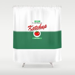 Ketchup Shower Curtain