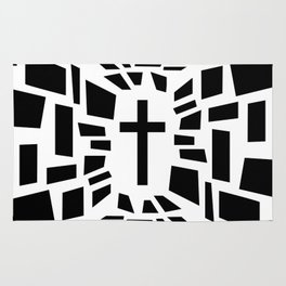 Christian Cross Rug