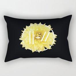 Trench Yellow Flower Rectangular Pillow
