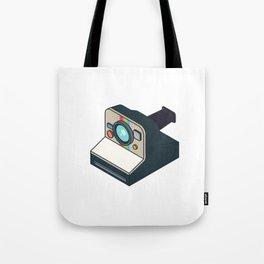 Retro Polaroid Tote Bag