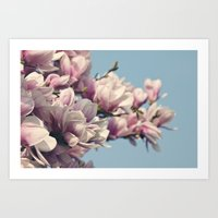 to the sky and back. Art Print