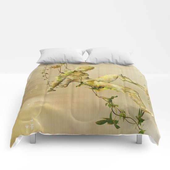 The man vegetable Comforters