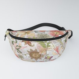 Pink Maximalist Collage Fanny Pack