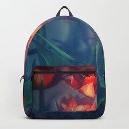 Orange Tulips Backpack