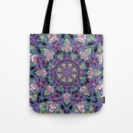 Abstract Flower AA YY QQQ Tote Bag