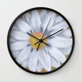 Daisy on Bronze Wall Clock
