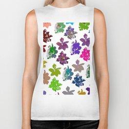 Gardenias in Color [Cecilia Lee] Biker Tank