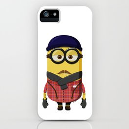 Hipster Minion iPhone Case