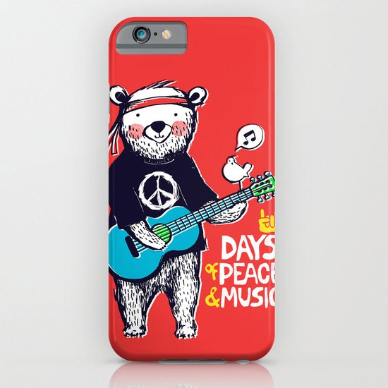 Days Of Peace & Music iPhone & iPod Case