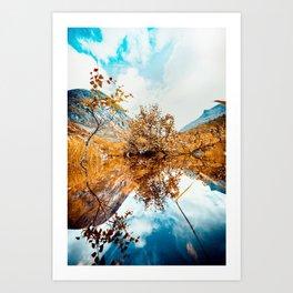 Norway dreams Art Print