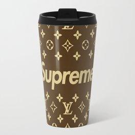 supreme louisVuitton print Travel Mug