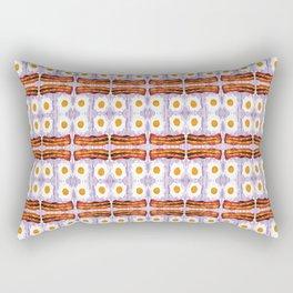 psicodic eggs and bacon Rectangular Pillow