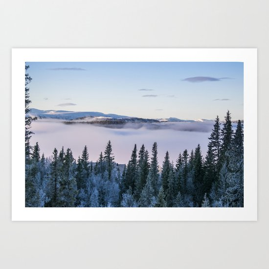 The forest in me Art Print