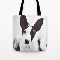 coco Tote Bags featuring Coco by Beverly LeFevre