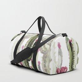 Cactus landscape Duffle Bag