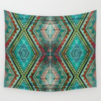 aztec Wall Tapestries featuring AZTEC by ED design for fun