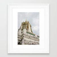 thailand Framed Art Prints featuring Thailand by Michelle Frances Deacon