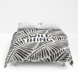 Wild Thing – Black Palette Comforters
