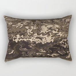 The Great Divide United Rectangular Pillow