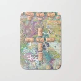 Cork Cross Bath Mat
