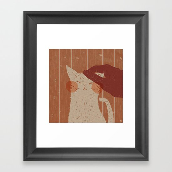 The Lives of a Cat Framed Art Print