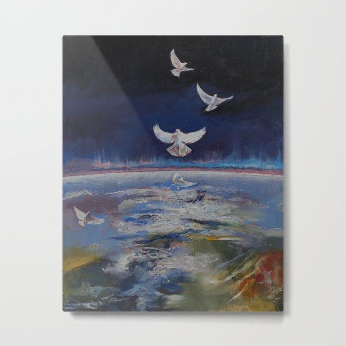 Doves Metal Print
