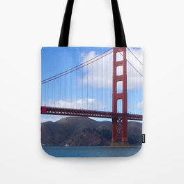 Golden Gate Bridge San Francisco Ca Tote Bag