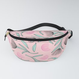 Pohutukawa flower blossom tropical summer Fanny Pack