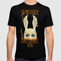 Rapture Masquerade Ball 1959 Black MEDIUM Mens Fitted Tee