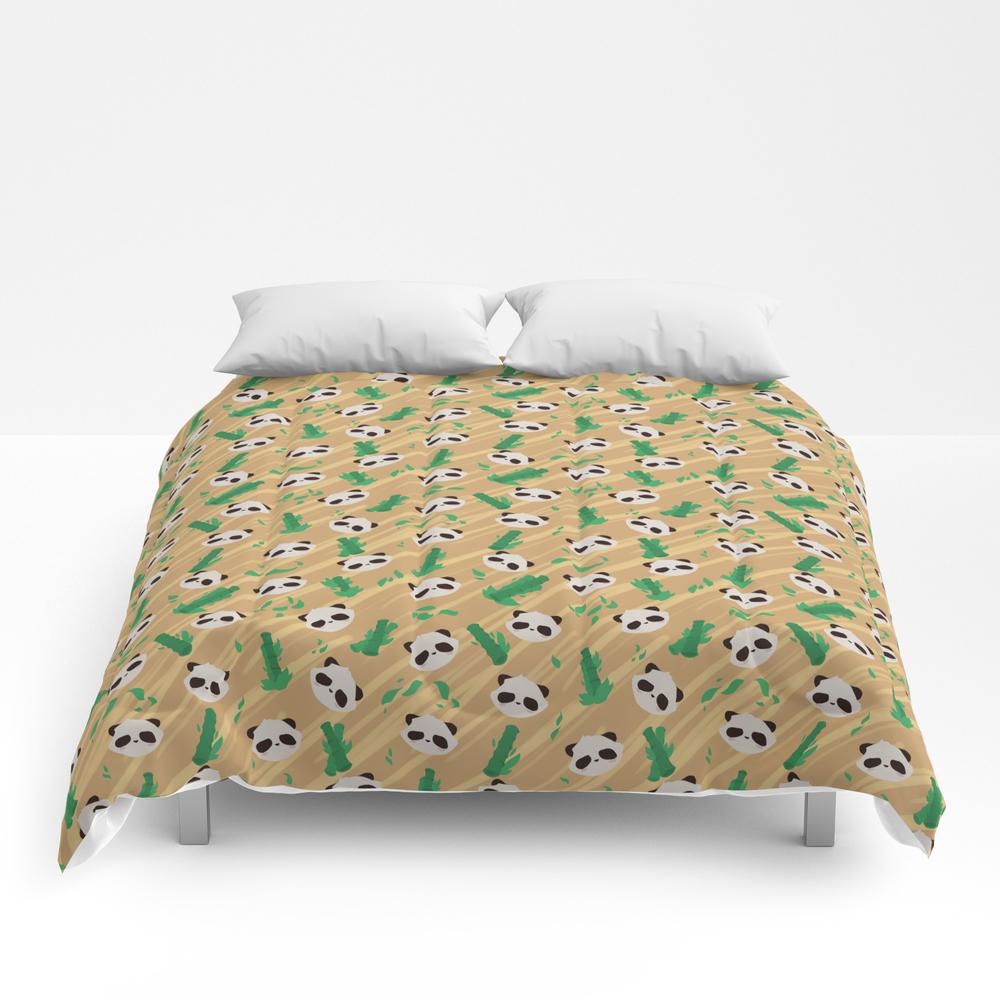 Panda Bamboo Pattern Comforter by Faraday CMF8564620