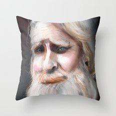 The Sad Captain Throw Pillow