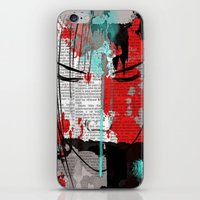 anime iPhone & iPod Skins featuring Anime 1 by Del Vecchio Art by Aureo Del Vecchio