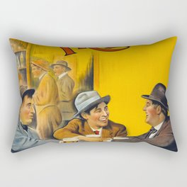 Three Friends Film Poster (1913) Rectangular Pillow