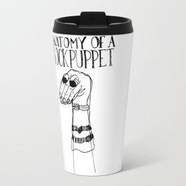 Sock Puppet Travel Mug
