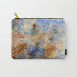 Gentle Shores - Original Abstract Art by Vinn Wong Carry-All Pouch
