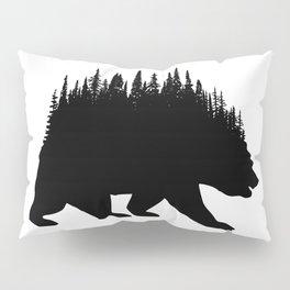 Fern and Bear Pillow Sham