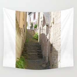 Stairway in France Wall Tapestry