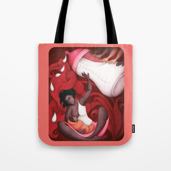 Breastfeeding and African-American Women Tote Bag