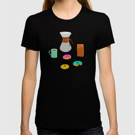Donuts and Coffee T-shirt