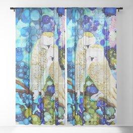 nous deux Sheer Curtain