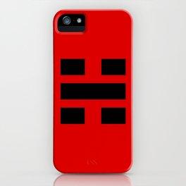 I Ching Yi jing - symbol of 坎Kǎn iPhone Case
