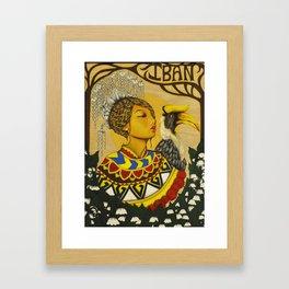 The Iban Girl Framed Art Print