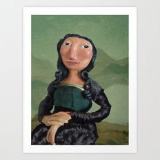 MonaLisa Art Print